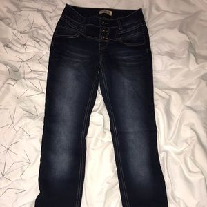 Blue Spice High Waisted skinny jeans